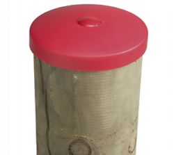 Tapa poste de madera ø100mm plastico