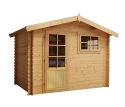 Blokhut tuinhuisje Norwich 300x250cm
