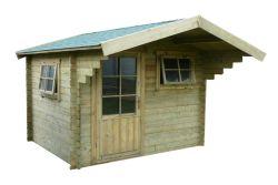 Abri de jardin en bois Ipswich 300x250cm