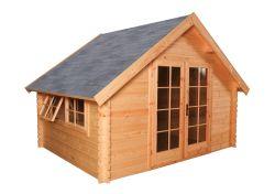 Abri de jardin en bois Luton 350x300cm