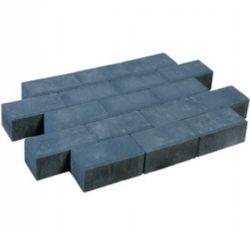 Brick pavement black.