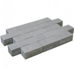 Brick pavement grey.