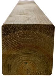 Houten palen tuinpalen grenen 7x7x270cm