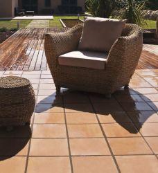 Terracotta tegels terrastegel Montserrat beige 28x28cm (m2)