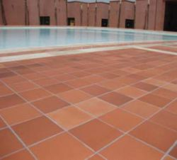 Terracotta tegels terrastegel Montserrat rood 28x28cm (m2)