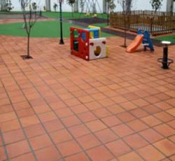 Terracotta tegels terrastegel Cadi oranje 28x28cm (m2)