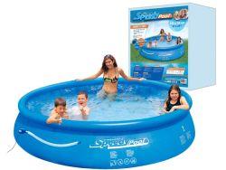 Zwembad opblaasbaar plastic met pomp