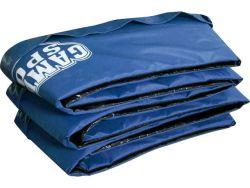 Cubierta protección  borde cama elastica,azul 250cm