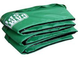Cubierta protección  borde cama elastica,verde 250cm