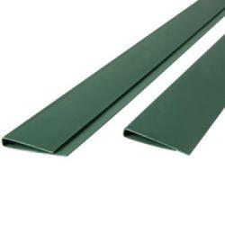 Profil clôture en canisse PVC vert 200cm