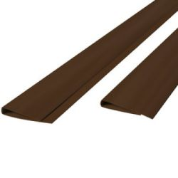 Perfil para cañizo PVC marron 200cm