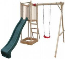 Wooden swingset Frank