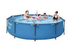 Zwembad stalen frame 305x76cm