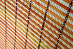 Bamboo Roller blinds Bombay 100cm