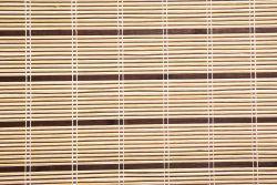 Bamboo Roller blinds Olive 120cm