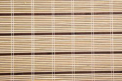 Bamboo Roller blinds Olive 150cm