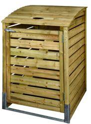 Cobertizo contenedor de basura 80x122x90cm