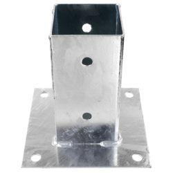 Base metalica soporte poste 91mm