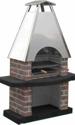 Barbecue Reina masonry stainless steel