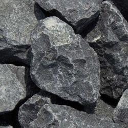 Ziersplitt Zierkies Naturstein schwarze Basalt