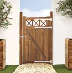 Puerta jardin Bangkirai 100x180cm