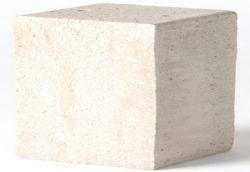 Socle en beton pour grille