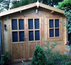 Houten tuinhuis blokhut Suffolk 300x200cm