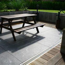 Bluestone tegels sierbestrating 40x40cm prijs per m2