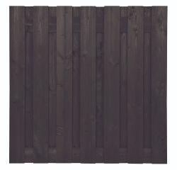 Clôture bois Douglas noir 180x180cm