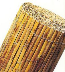 Bamboematten tuinscherm gespleten 1x5m