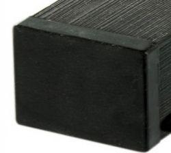 Post wood composite black