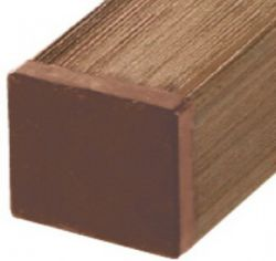 Post wood composite brown