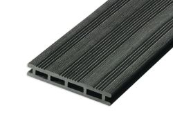 Tarima exterior sintética composite negro 360cm (21x145mm)