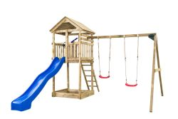 Wooden swingset Anna 400x320x420 cm