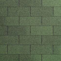 Roof Shingles green for garden sheds 3m2