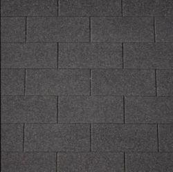 Cubierta tejas asfaltica negra 3m2