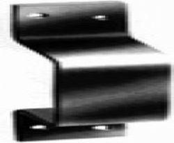 Support Portillon Portail Modele-U, galvanise
