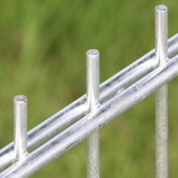 Afsluitingen hekwerken dubbelstaafmatten 203x251cm vuurverzinkt