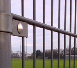 Afsluitingen hekwerken dubbelstaafmatten 123x251cm gepoedercoat