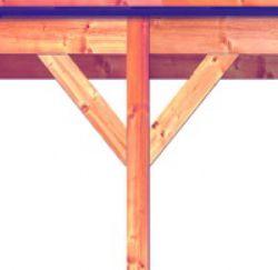 Back sidewall for Garden Porch Douglas