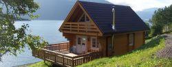 Houten huis blokhut lodge chalet Stavanger 5,20x7,80m (94mm)