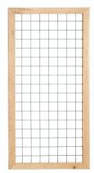 Holzzaun trellis Rankgitter 90x180cm