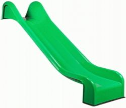 Slide green for swing set playset polyester 365cm