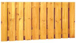 Holzzaun halb 180x90cm