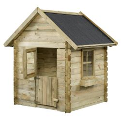 Wooden playhouse 125x115x155cm