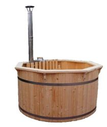 Hottub thermally modified wood ø150cm/38mm