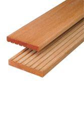 Decking board hardwood Kapur 490cm (21x145mm)