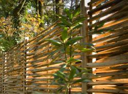 Kastanjescherm gespleten tuinschermen vlechtscherm 150x150cm