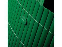 Clôture en canisse PVC vert 2x5m