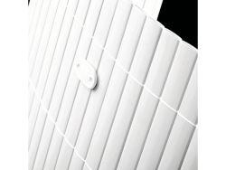 Canisse PVC blanc 150x500cm